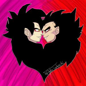 Goku and Vegeta Heart - Profile