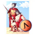 Goku and Vegeta as Spartans by Mr-Sen